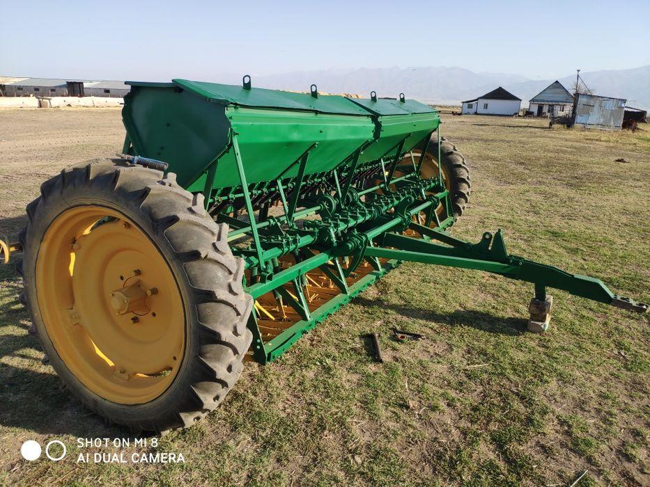 Сеялка зерновая для пшеницы и ячменя Мерке - изображение 1