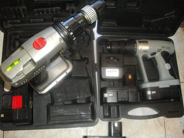 24 Волта Профи Винтоверт-Ударен-Professional Hammer Dril-Manesmann