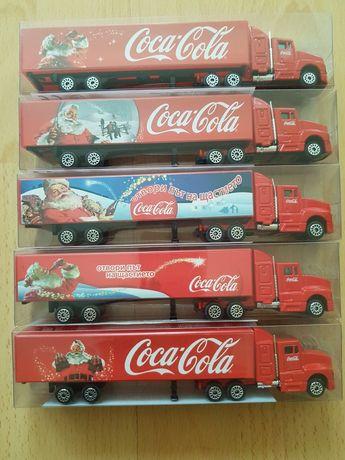 5 бр.Коледни камиончета