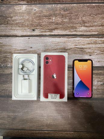 Айфон 11 красный 64гб 94%