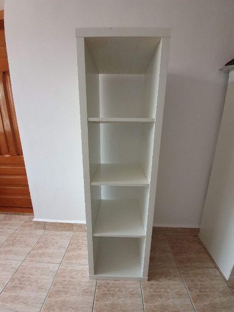 raft alb mobilier 147cm x 41 cm orizontal sau vertical 4 compartimente