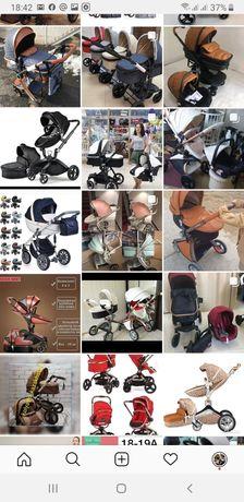 Новые детские коляски оптом и в розницу
