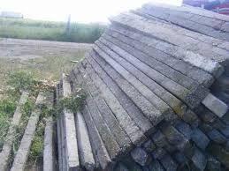Spalieri stâlpi de beton