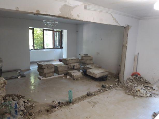Taiat  taiere pereti beton armat Decupare demolari fundatii ,anexe etc
