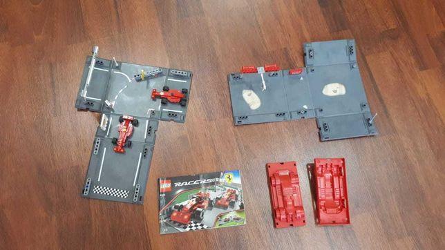 Лего Racers, оригинальный гоночный набор 8123, Ferrari F 1