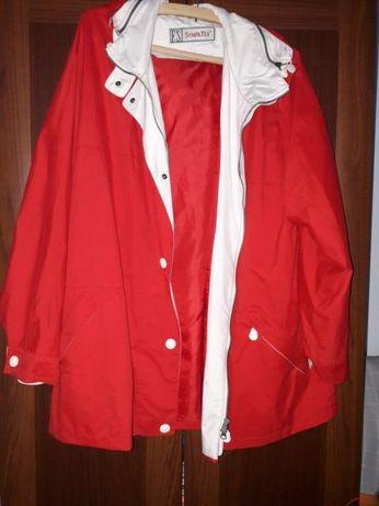 Geacă roșie de damă - mărimea 48