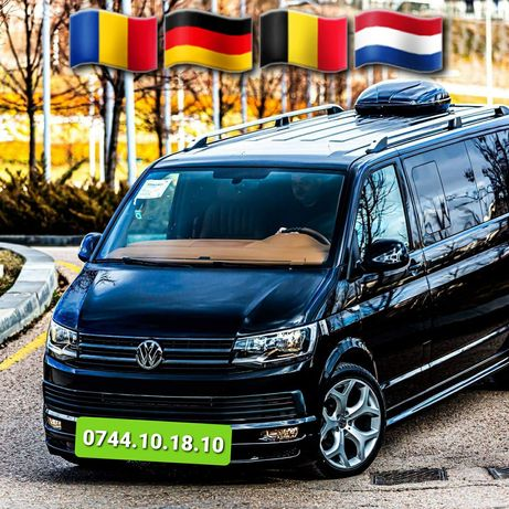 Transport Persoane&Auto-Zilnic-Austria Germania Belgia Olanda-Direct