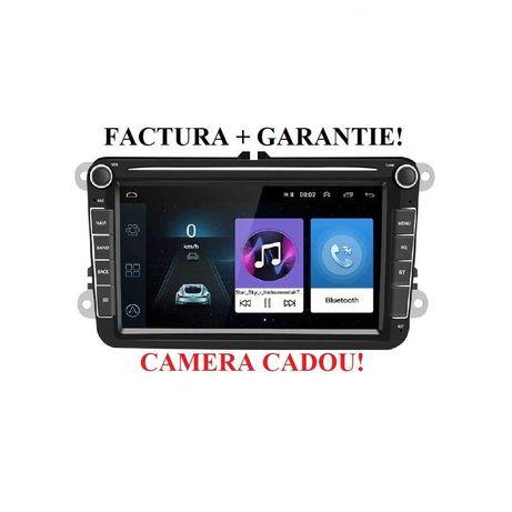 Navigatie VW Android 8'' + Camera 2GB RAM Golf Passat Tiguan Touran