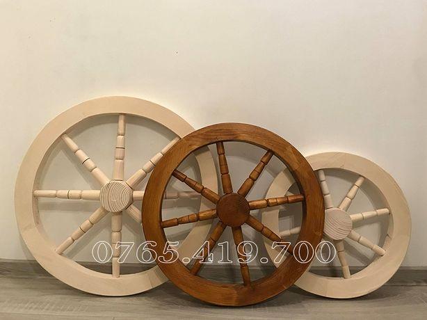 Roata lemn- roti lemn decorative
