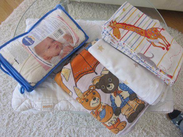 Завивки за бебешко креватче.