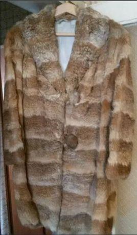 Дамско заешко палто