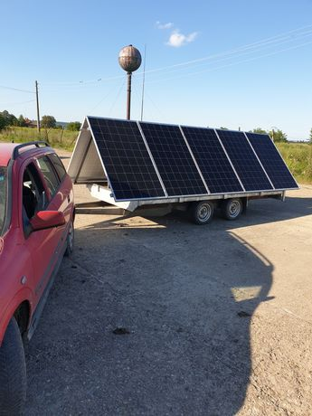 Remorca  fotovoltaica solara