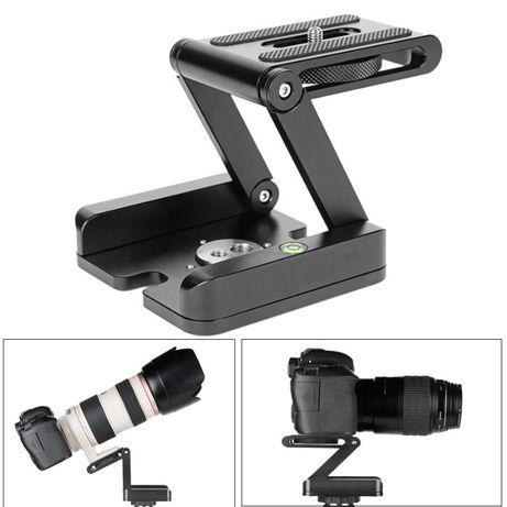 Cap trepied Z Pan & Tilt din aluminiu pt camere foto DSLR Canon Nikon