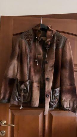 Коженная куртка из непры