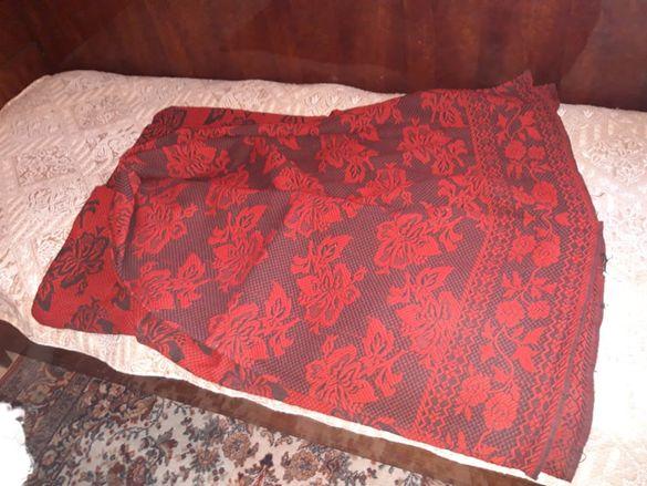 Вълнена ретро куверта за спалня