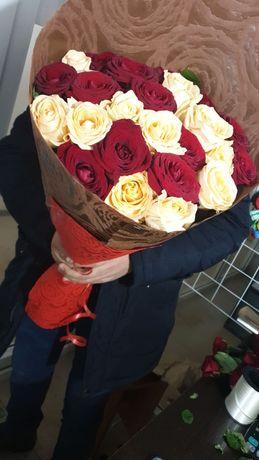 Доставка роз от 250 т