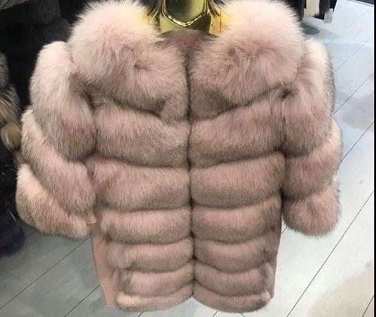 Модерно! Дамско яке от естествена кожа и косъм