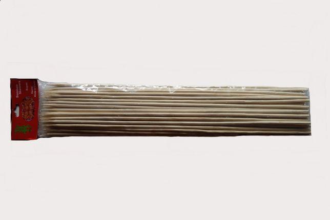 Bețe din bambus 40cm x 6mm pentru frigărui sau cartofi spiralați