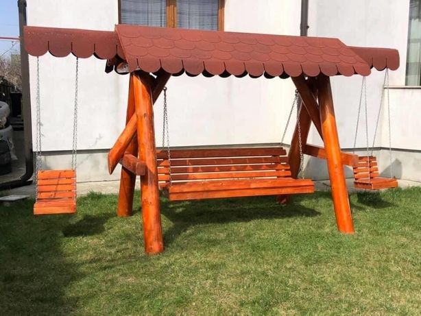 Balansoar din brad lemn tratat