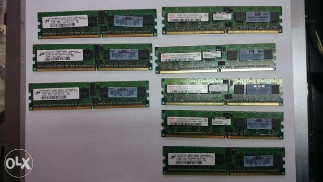 Memorie SDRAM ECC PC2 512Mb DDR2 400MHz CL3