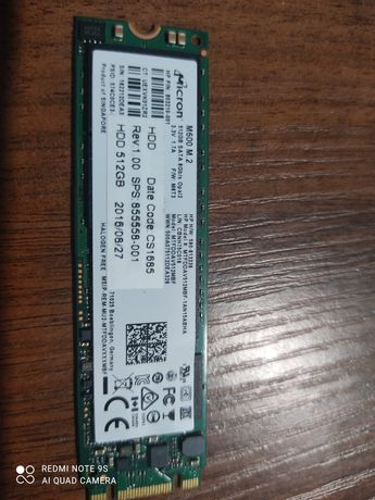 Ssd M2 512gb на ноутбук