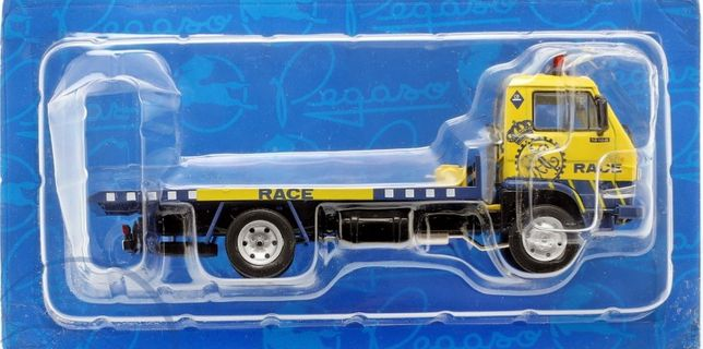 macheta platforma tractare trailer pegaso ekus 1210-6