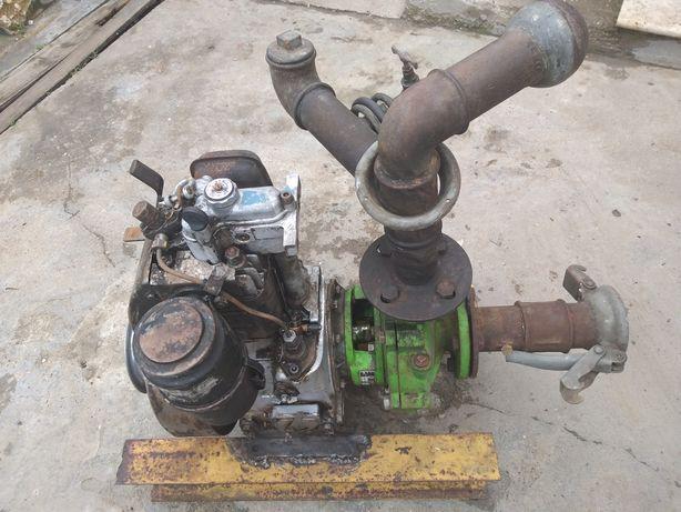 Motopompa irigații diesel