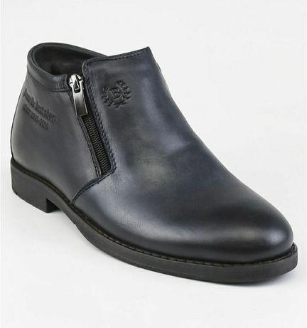 Зимние кожаные ботинки 41 размер