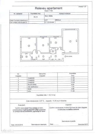 Rosiori- Apartament 3 camere- decomandat- Liber