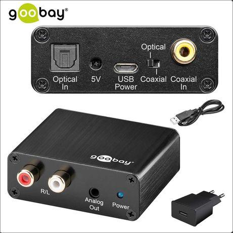 Цифров към аналогов аудио конвертор GOOBAY, Нови, Германия
