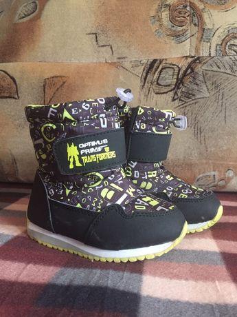 Тёплые зимние ботинки,сапоги