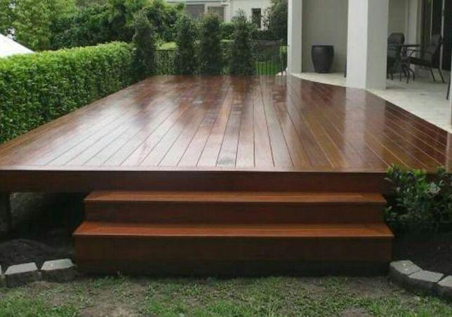 Terase gradina lemn