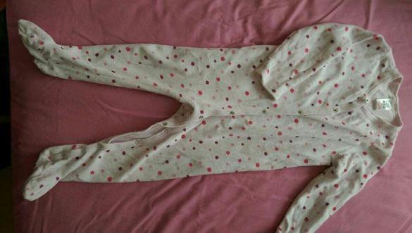 Плюшени пижамки Zara,р-р 12-18 и 18-24 м.