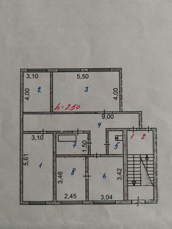 Продам 4-комнатную квартиру.