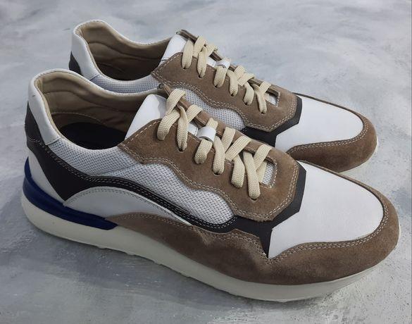 Обувь. Кроссовки из натуральной кожи и замши