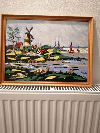 Tablou pictat 40 - 30 cm