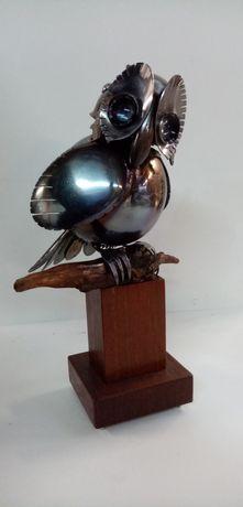 Бухал art skrab авторски скулптори