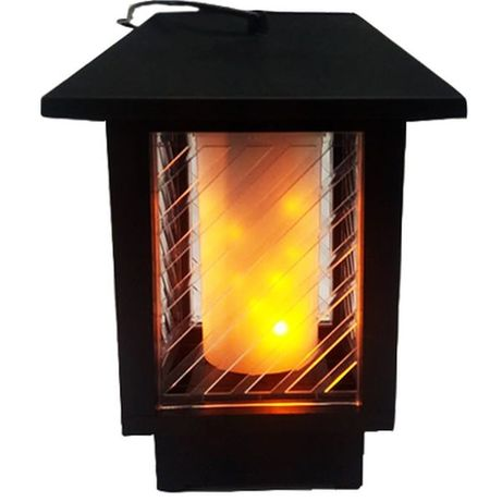 Felinar-Lampa Solara LED cu efect flacara