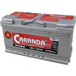 Baterie auto 12V 100Ah 870A Caranda 3 Ani garantie