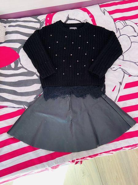 Кожена пола и пуловерчета гр. Сливен - image 1