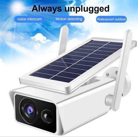 Соларна Камера PRO/ FULLHD/ Wi-Fi ICSee 1080P