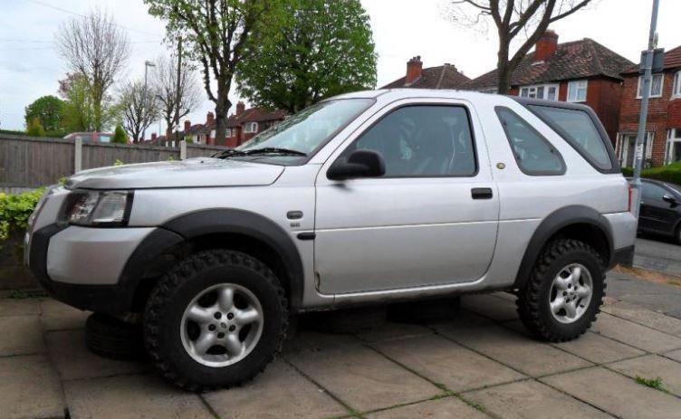 Kit inaltare suspensie 5 cm Land Rover Freelander 1