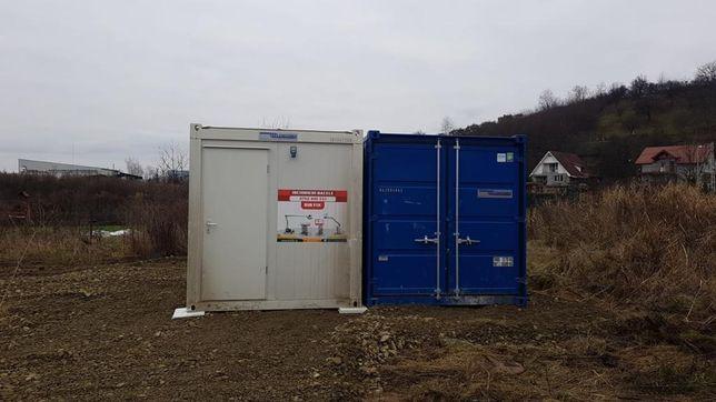 Inchiriez container tip birou si depozitare