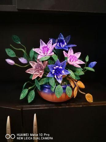 Цветя от мъниста