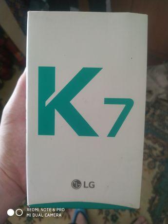 Срочно продается  LG K7