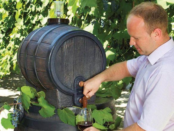 Бурета за вино и ракия от 2 литра до 200 литра