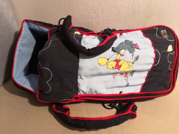 Порт бебе / hauck fun for kids / с твърд гръб