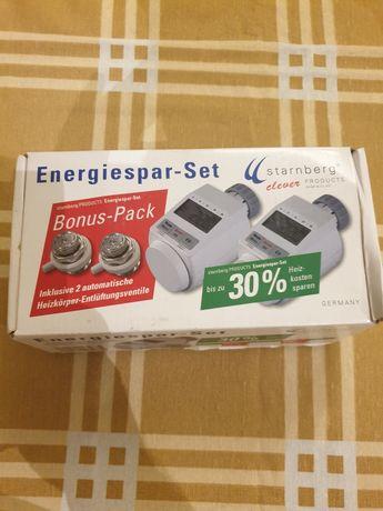 Cap termostatic electronic digital calorifer programabil reglaj manual