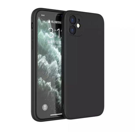 Husa Ultra Slim Silicon Protectie Camera Neagra Iphone 12 MINI PRO MAX
