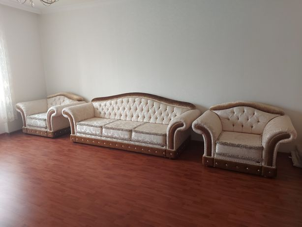 Мягкая мебель Диван +2 кресла